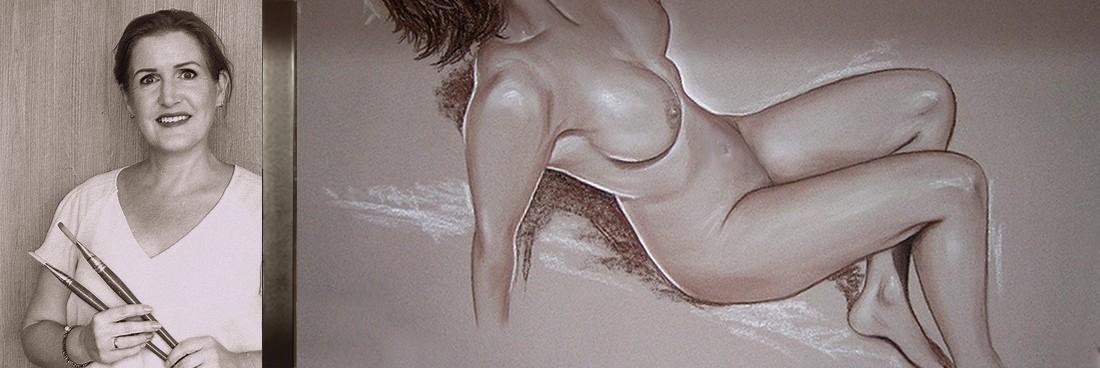 Naaktschilder Carroline van Dijk
