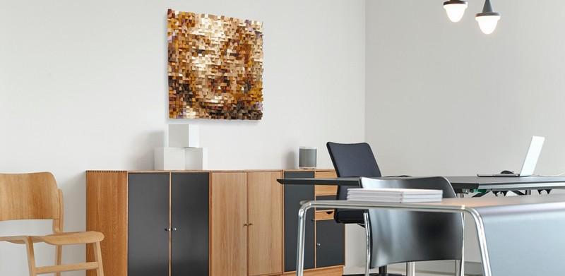 modern portret schilderij laten maken